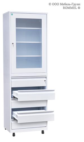Шкаф для медикаментов и документации ШМД-07