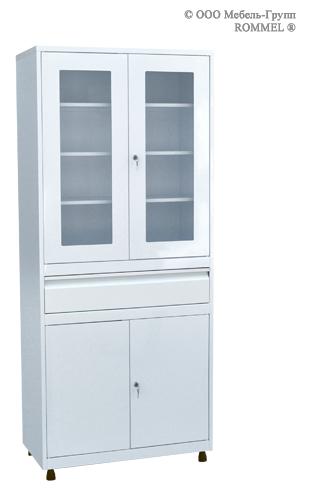 Шкаф для кабинета врача ШКВ-07
