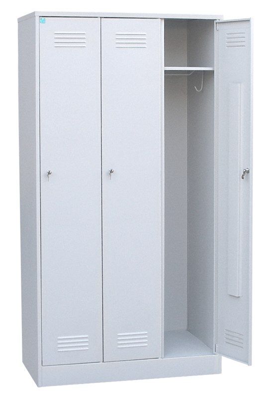 Шкаф для одежды трёхстворчатый сварной