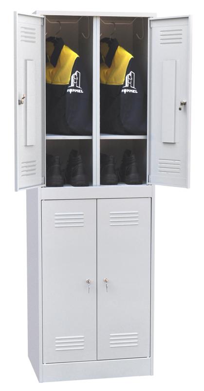 Шкаф для одежды четырехсекционный