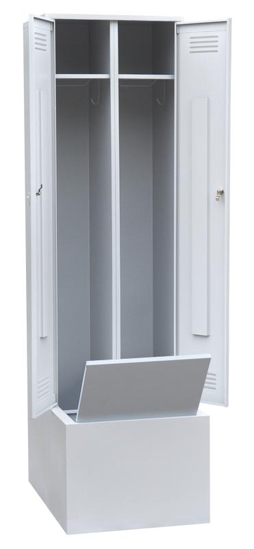 Шкаф для одежды с дополнительным ящиком