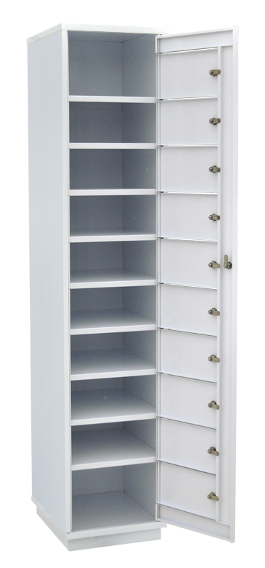 Шкаф абонентский на 10 ячеек