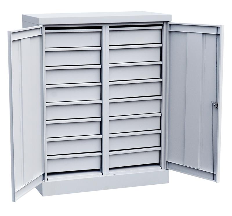 Шкаф инструментальный 16 ящиков