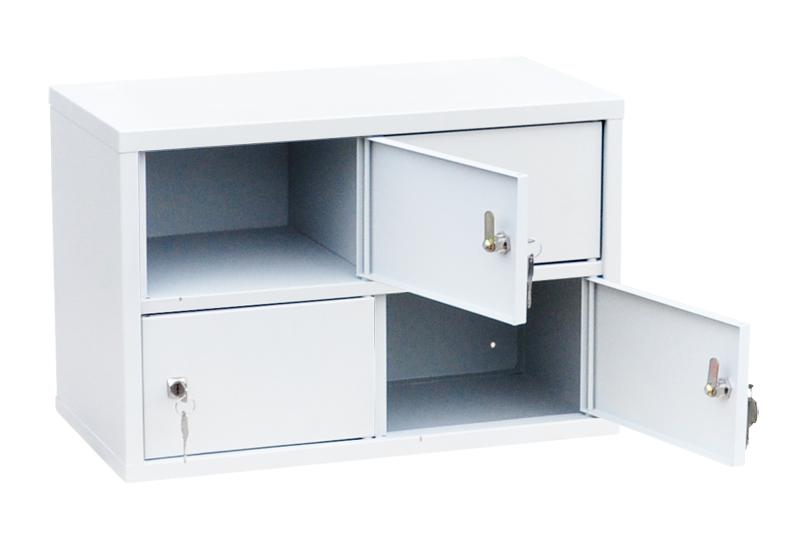 Индивидуальный шкаф кассира на 4 отделения (навесной) (ИШК-4)